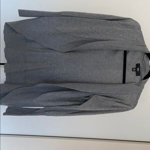 Grey cotton cardigan